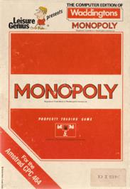 Box cover for Leisure Genius presents Monopoly on the Amstrad CPC.