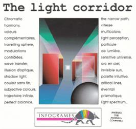Box cover for Light Corridor on the Amstrad CPC.