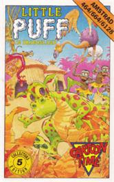 Box cover for Little Puff in Dragonland on the Amstrad CPC.