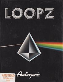Box cover for Loopz on the Amstrad CPC.