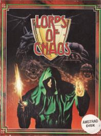 Box cover for Lords of Chaos on the Amstrad CPC.