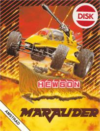 Box cover for Marauder on the Amstrad CPC.