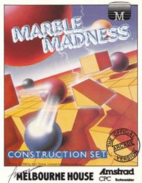 Box cover for Marble Madness Construction Set on the Amstrad CPC.