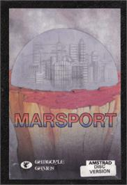 Box cover for Marsport on the Amstrad CPC.