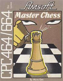 Box cover for Master Chess on the Amstrad CPC.