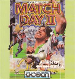 Box cover for Match Day 2 on the Amstrad CPC.