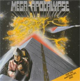 Box cover for Mega Apocalypse on the Amstrad CPC.