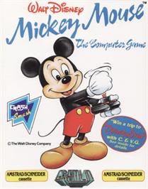 Box cover for Mickey Mouse: The Computer Game on the Amstrad CPC.