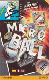 Box cover for Micro Ball on the Amstrad CPC.