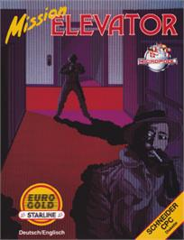 Box cover for Mission Elevator on the Amstrad CPC.
