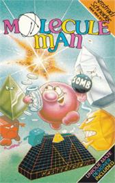 Box cover for Molecule Man on the Amstrad CPC.