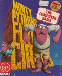 Box cover for Monty Python's Flying Circus on the Amstrad CPC.