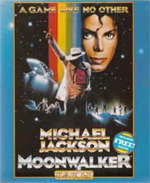 Box cover for Moonwalker on the Amstrad CPC.