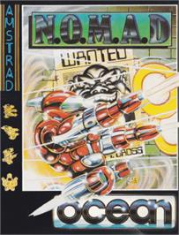 Box cover for NOMAD on the Amstrad CPC.