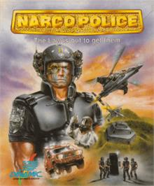 Box cover for Narco Police on the Amstrad CPC.