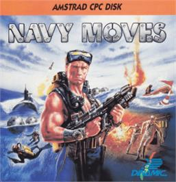 Box cover for Navy Moves on the Amstrad CPC.
