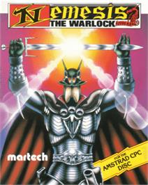 Box cover for Nemesis the Warlock on the Amstrad CPC.