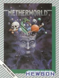 Box cover for Netherworld on the Amstrad CPC.