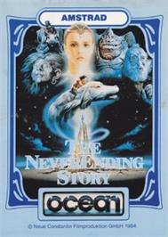 Box cover for Neverending Story on the Amstrad CPC.