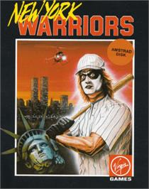 Box cover for New York Warriors on the Amstrad CPC.