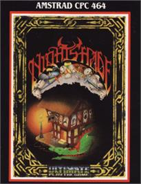 Box cover for Night Shade on the Amstrad CPC.