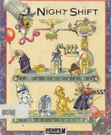 Box cover for Night Shift on the Amstrad CPC.