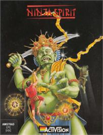 Box cover for Ninja Spirit on the Amstrad CPC.