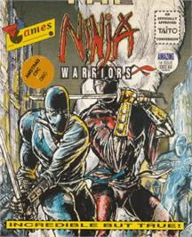 Box cover for Ninja Warriors, The on the Amstrad CPC.
