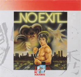 Box cover for No Exit on the Amstrad CPC.