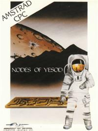 Box cover for Nodes of Yesod on the Amstrad CPC.