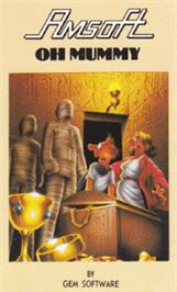 Box cover for Oh Mummy on the Amstrad CPC.