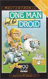 Box cover for One Man and his Droid on the Amstrad CPC.
