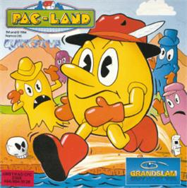 Box cover for Pac-Land on the Amstrad CPC.