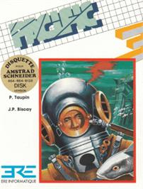 Box cover for Pacific on the Amstrad CPC.