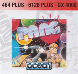 Box cover for Pang on the Amstrad CPC.