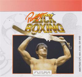 Box cover for Panza Kick Boxing on the Amstrad CPC.