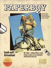 Box cover for Paperboy 2 on the Amstrad CPC.