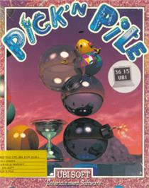 Box cover for Pick 'n' Pile on the Amstrad CPC.
