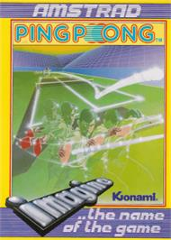 Box cover for Ping Pong on the Amstrad CPC.