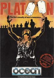 Box cover for Platoon on the Amstrad CPC.