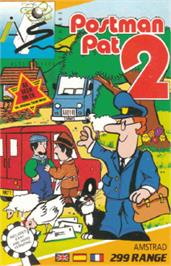 Box cover for Postman Pat 2 on the Amstrad CPC.