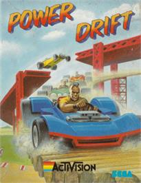 Box cover for Power Drift on the Amstrad CPC.