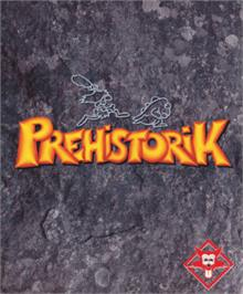 Box cover for Prehistorik on the Amstrad CPC.