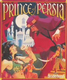 Box cover for Prince of Persia on the Amstrad CPC.