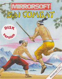 Box cover for Quattro Combat on the Amstrad CPC.