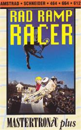 Box cover for Rad Ramp Racer on the Amstrad CPC.