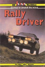 Box cover for Rally Driver on the Amstrad CPC.