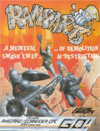Box cover for Ramparts on the Amstrad CPC.