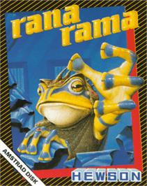 Box cover for Rana Rama on the Amstrad CPC.
