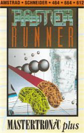 Box cover for Raster Runner on the Amstrad CPC.